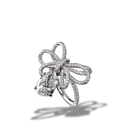 CHANEL - 1932 collection Ring in 18K white Gold and Diamonds - Chanel Fine Jewelry