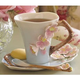 Room Service Home - Cherry Blossom Teatime Set