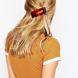 ASOS - Limited Edition Chunky Tortoiseshell Hair Barrette