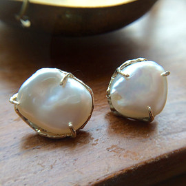 KIKY - KIKY,   Fresh Water Pearl earrings