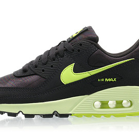 NIKE - Air Max 90 - Dark Smoke Grey/Volt/Barely Volt