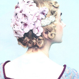 ROSY BAROQUE - vintage headdress