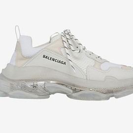 BALENCIAGA - Triple S Clear Sole Trainers