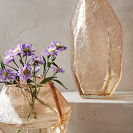 Anthropologie - Faceted Gem Vase