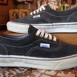 VANS - Era charcoal suede made in usa 1980