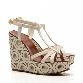 TORY BURCH - ida WEDGE BLEACH