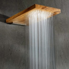 RARE - SOFFIONI - Terra Marique Natural Wood Shower Head