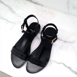 saint laurent - black/sandal