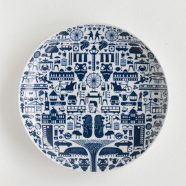 KIHARA × Supermama - One Singapore (24cm Plate)
