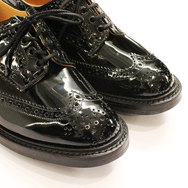 Tricker's - Patent Brogue Shoes