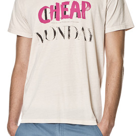 CHEAP MONDAY - Tor Tee Recycle Monday Pale