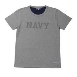 "BiceSter - S/S EMBROIDERY TEE ""NAVY"""
