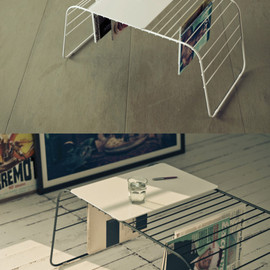 MARC coffee table by Gauzak for Quattria