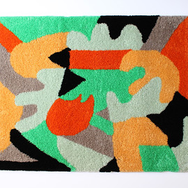Jessica Hans × PALETOWN - collaboration textile rug