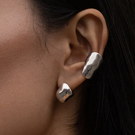 FARIS - BUBBLE Earcuff in Silver