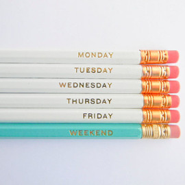 Amanda Catherine Designs - Hello Weekend Pencils