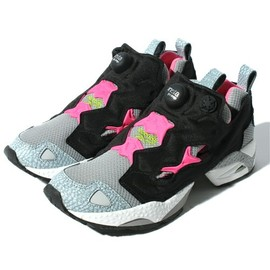 Reebok - Pump Fury Grey x Pink