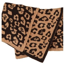 Barefoot Dreams - In the Wild Leopard CozyChic Receiving Blanket