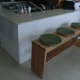 Agio - Bench made of Oak/Made-to-order