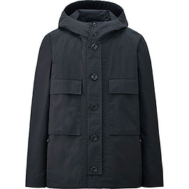 UNIQLO AND LEMAIRE - UNIQLO AND LEMAIRE コットンパーカー