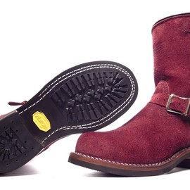 Wesco - Boss Burgundy Roughout