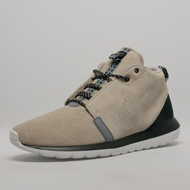 Nike - Roshe Run NM Sneakerboot - Bamboo/Black/Cool Grey/Light Ash Grey