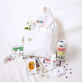 big bud - Big Bud Mini Back Pack- Vintage Tee White