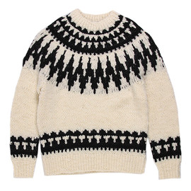 Rags McGREGOR - NORDIC PATTERN KNIT SWEATER