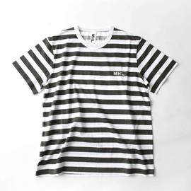 MHL. - PRINTED STRIPE