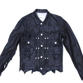 TAKAHIROMIYASHITA The SoloIst. - rough out work jacket.
