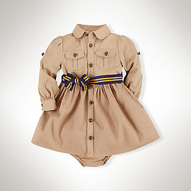 RALPH LAUREN - Equestrian Cotton Shirtdress