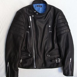 TILT - LETHER RIDERS JACKET (12aw)