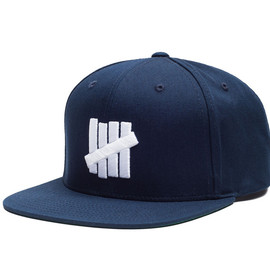 UNDEFEATED - 5 STRIKE SNAPBACK/NAVY