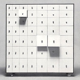 Shiro Kuramata 倉俣史朗, cappellini - chest of drawers 引出し家具Vol.2, 1970