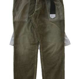 PEEL&LIFT - Cord Trousers (khaki)