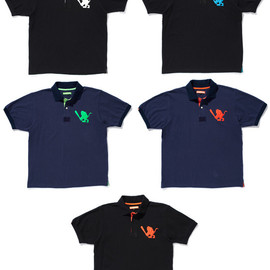 SANTASTIC! - BAT SARU POLO SHIRT