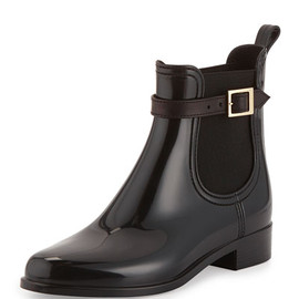 JIMMY CHOO - PVC Short Rain Boot