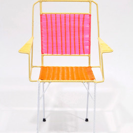 MARNI - 100 colorful wicker chairs