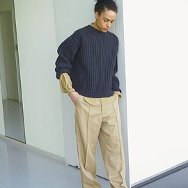 AURALEE - 17_AW_WIDE PANTS