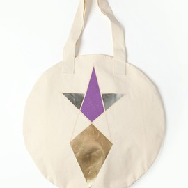 COSMIC WONDER Light Source ACCESSORIES - PENTAGRAM PRINT CIRCLE TOTE BAG (ZOZOTOWN / CWLS STORE LIMITED)