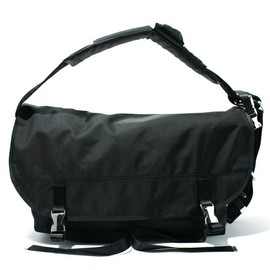 DOUBLE STRAP BACK PACK BLACK