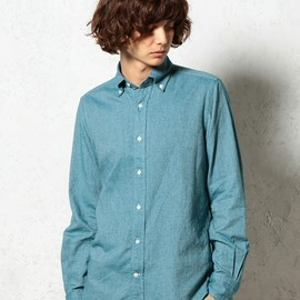 green label relaxing - □ALBIATE VIYELLA H/B BD シャツ