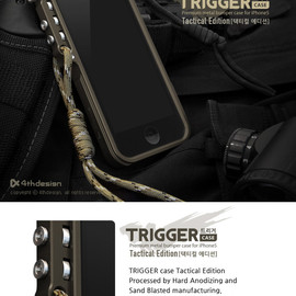 4th design - TRIGGER case Tactical Edition