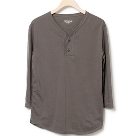 nonnative - DWELLER TEE HENRY QS - COTTON JERSEY