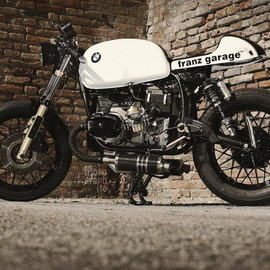 "BMW - R45 ""SCHWARZEN STRIPES"" by FRANZ GARAGE"