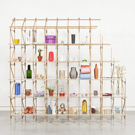 Studio Mieke Meijer - Wooden Shelves