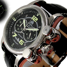 Tauchmeister 1937 - T0177 Vertical pushers chronograph