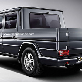 Mercedes-Benz - G-Class Pickup (rear)