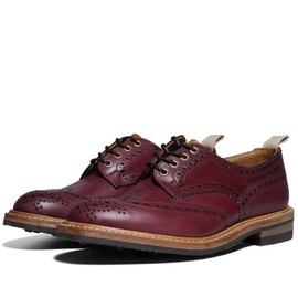 Tricker's - Tricker's for End Hunting Co. 'Oxblood' Bourton Derby Brogue