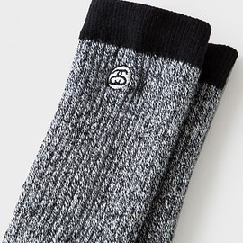 STUSSY - Mini SS-Link Speckle Socks - White